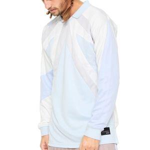 adidas Originals EQT 18 Long Sleeve shirt in blue
